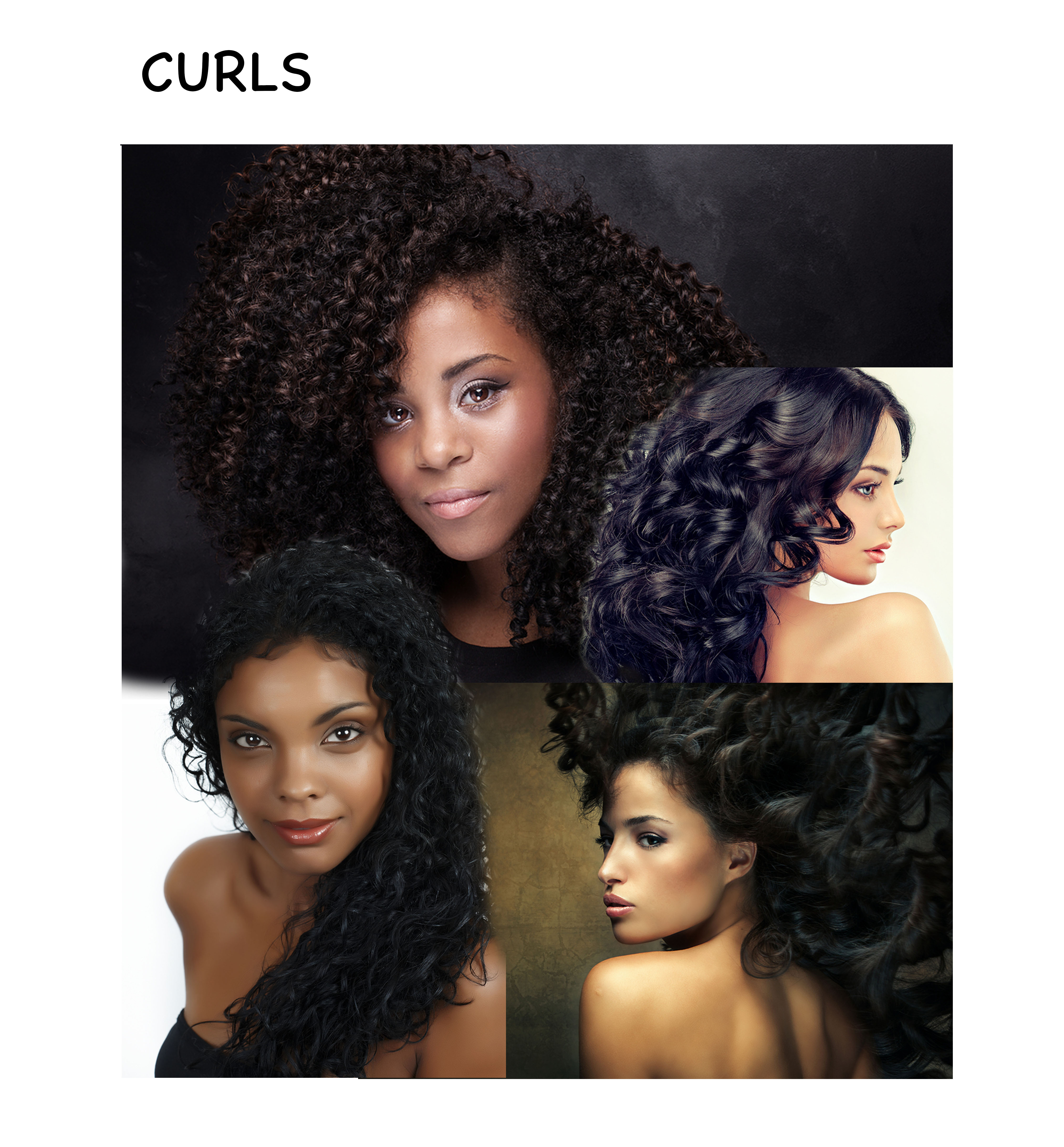 Curls-collage